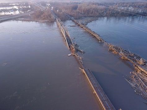 BNSF Bridge Damage