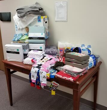 Womens Shelter Donations 1